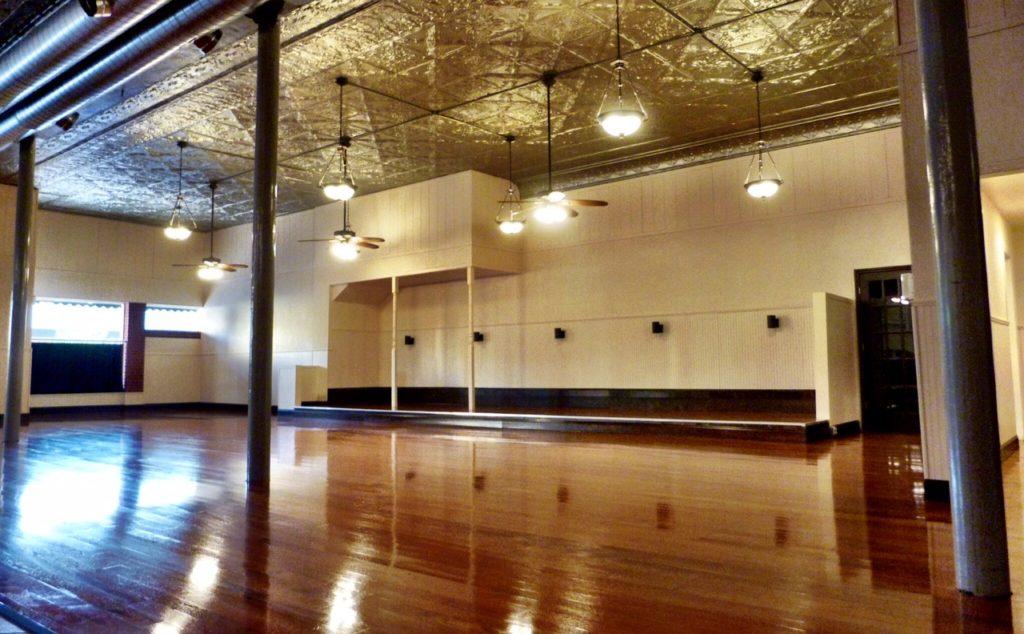 The Ballrooms beautiful wooden floor
